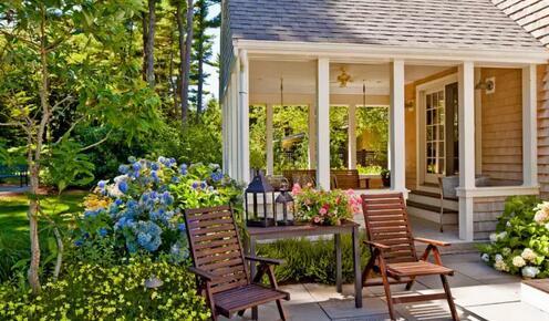 最美庭院|看到这些庭院,有钱人都回农村建房了!附带效果图 图纸!