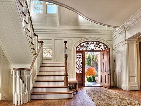 农村自建别墅尺寸楼梯和宽度有规范,合理尺寸丹阳别墅胡桥镇图片