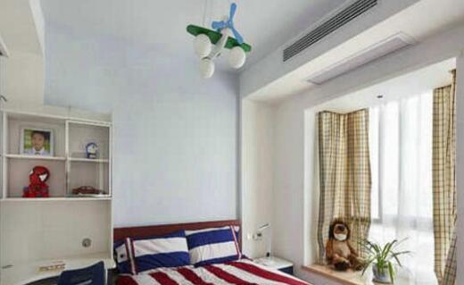 农村别墅安装中央空调时,可参考的8种吊顶设计方式