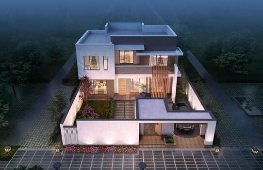 农村最简单实用的二层楼房设计,经济条件有限的福音